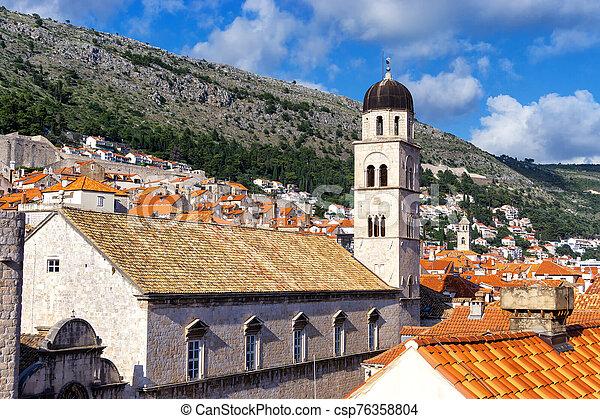 古い, dubrovnik, 都市, croatia - csp76358804