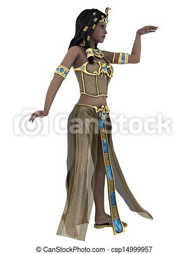 古代, 女王, エジプト人 - csp14999957