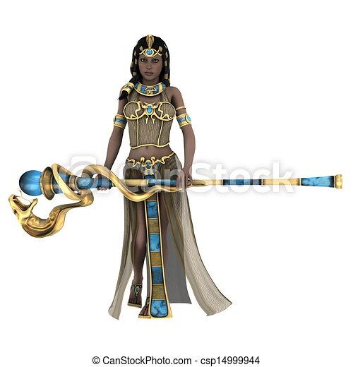 古代, 女王, エジプト人 - csp14999944