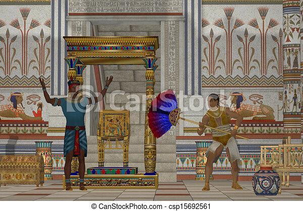 古代, 男性, エジプト人 - csp15692561