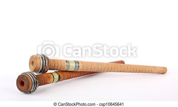 古董, spindles - csp10645641