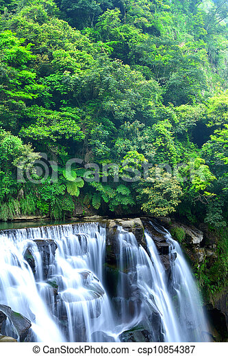 台湾, 滝 - csp10854387