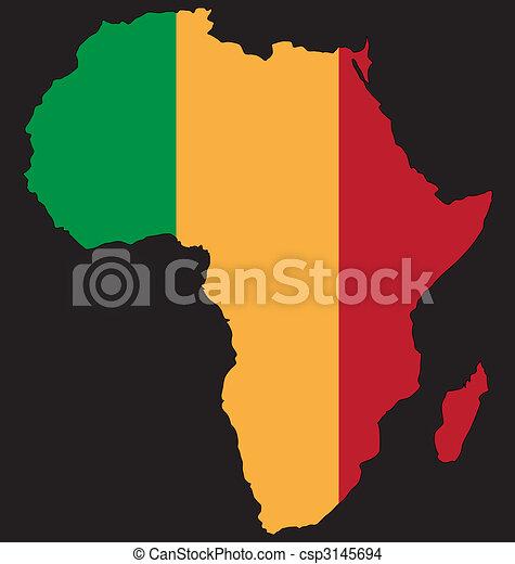 合併した, アフリカ - csp3145694