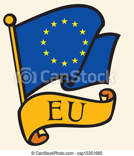 合併フラグ, (eu), ヨーロッパ - csp15351682