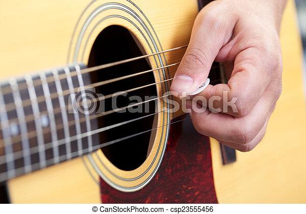 吉他, 關閉 - csp23555456