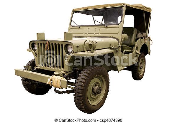 吉普车, 第一流, 军队 - csp4874390