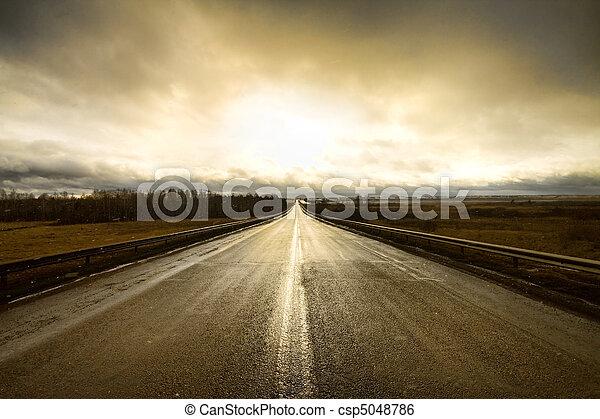向前, 高速公路 - csp5048786