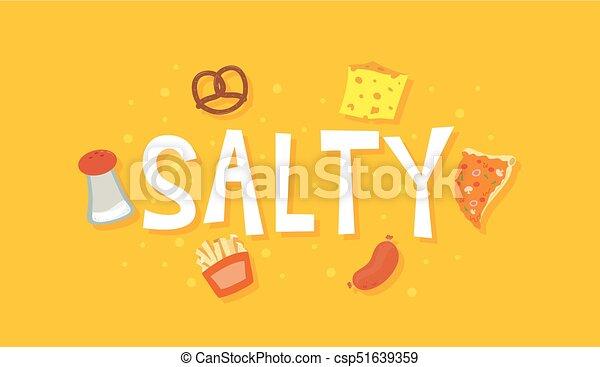 味 食物 塩辛い イラスト センス ソーセージ Salt ピザ のよう
