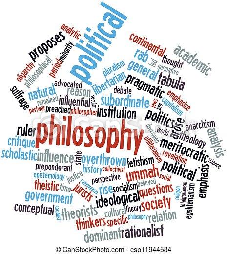 哲學, 政治 - csp11944584
