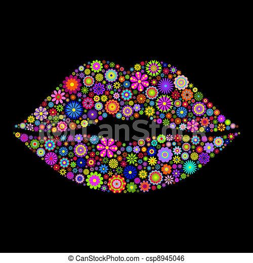 唇 - csp8945046