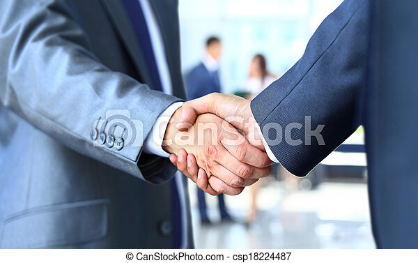 商人, 振動, 兩只手 - csp18224487