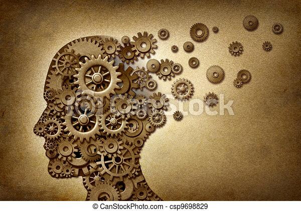問題, 痴ほう, 脳 - csp9698829