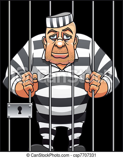 囚人, 捕獲される - csp7707331