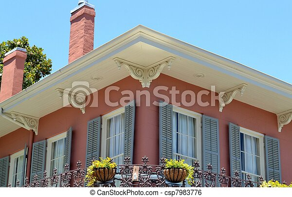 四分の一, 建築, フランス語 - csp7983776
