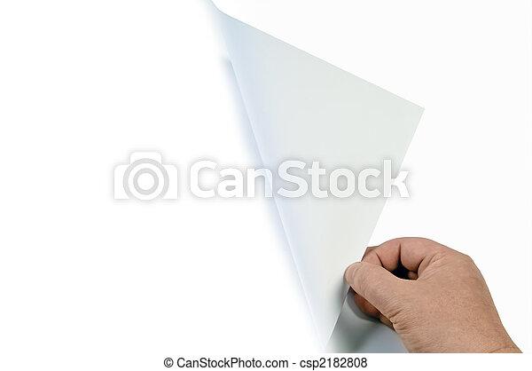 回転しているページ - csp2182808