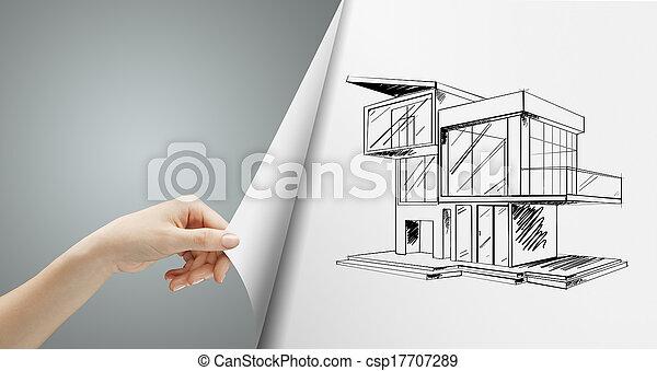 回転, ページ, 家 - csp17707289