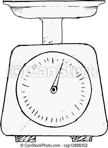 国内, weigh-scales - csp12888352