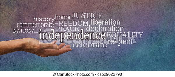 国民, 旗, 日, 独立 - csp29622790