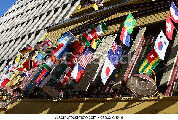 国際旗 - csp0327809