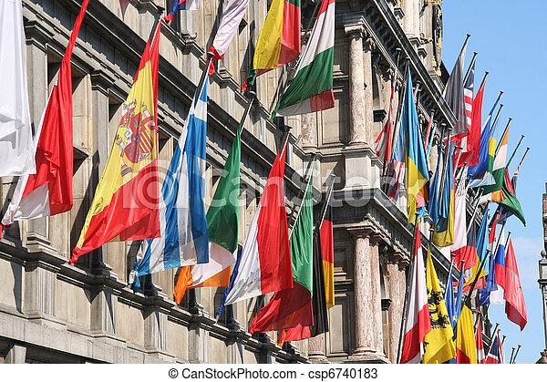 国際旗 - csp6740183