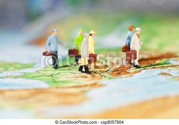 国際的な ビジネス, 協力 - csp8057904