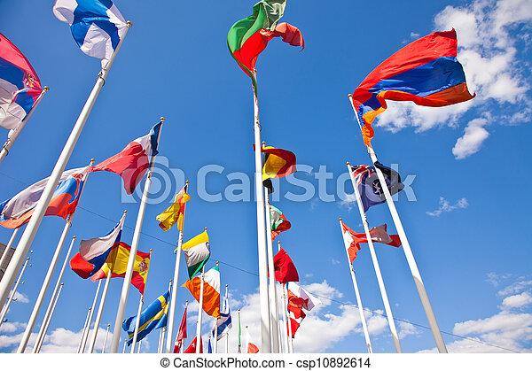 国, 国民, 旗, 別 - csp10892614