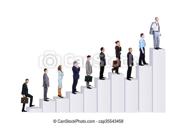 图形, 人们商业, 队 - csp35543458
