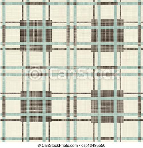 圖案, 幾何學, retro, seamless - csp12495550