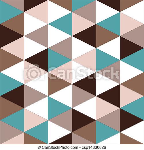 圖案, 摘要, 幾何學, seamless, retro - csp14830826