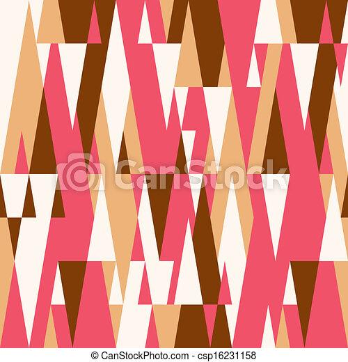 圖案, 摘要, 鮮艷, 幾何學, 背景 - csp16231158