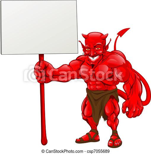 地位, 悪魔, 保有物, 印 - csp7055689