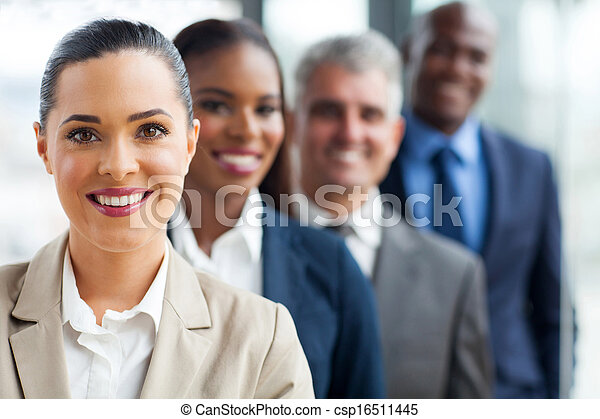 地位, 横列, グループ, ビジネス チーム - csp16511445