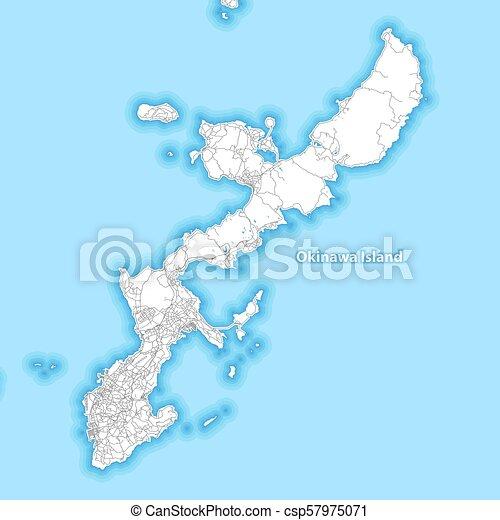 地図 日本 島 沖縄 地図 日本 島 小島 ハイウェー 沖縄 包囲