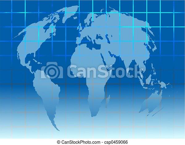 地図, 格子 - csp0459066