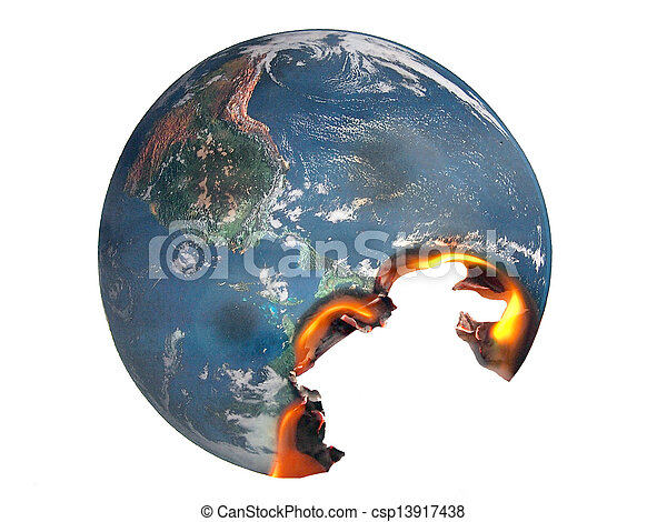地球温暖化 - csp13917438
