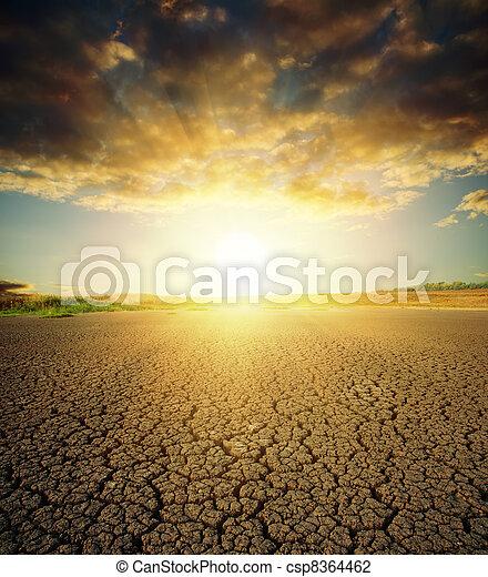 地球温暖化 - csp8364462