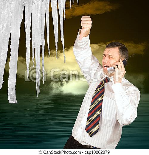 地球温暖化 - csp10262079