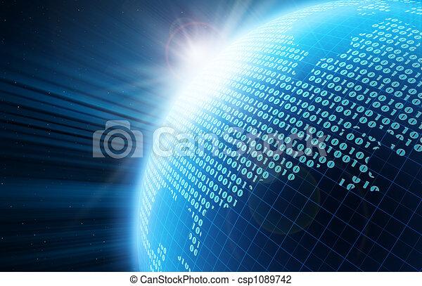地球, デジタル - csp1089742