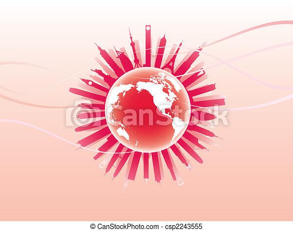 地球, ランドマーク - csp2243555