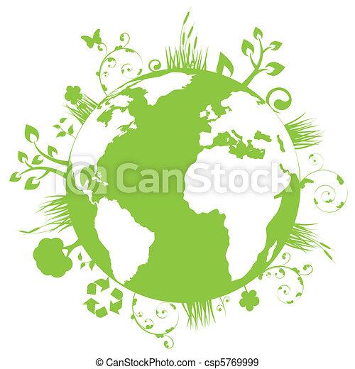 地球, 緑 - csp5769999