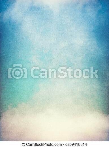 坡度, 霧, textured - csp9418814