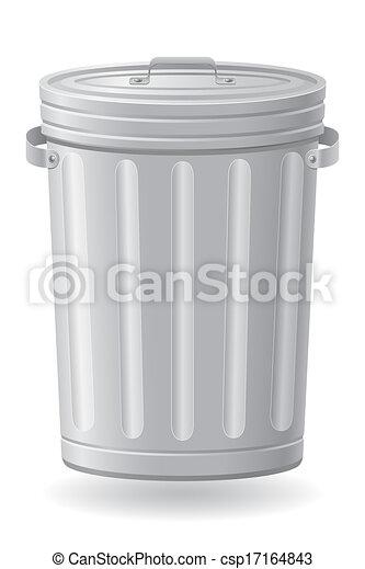 垃圾桶, 插圖 - csp17164843