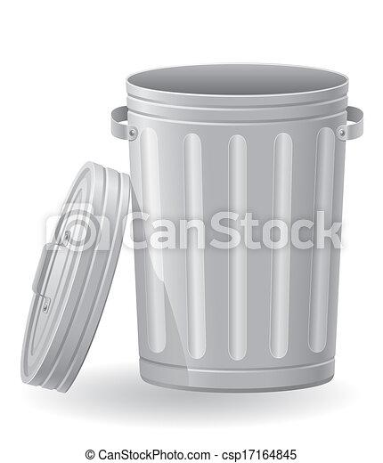 垃圾桶, 插圖 - csp17164845