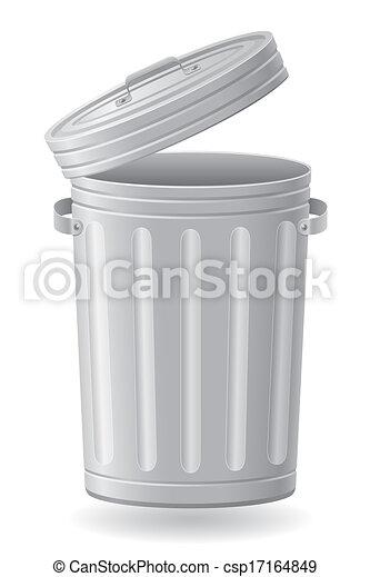垃圾桶, 插圖 - csp17164849