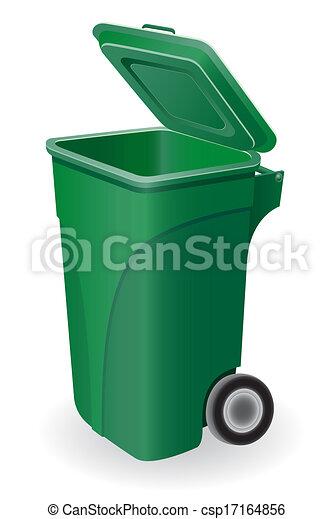 垃圾桶, 插圖 - csp17164856