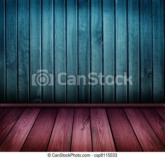 型, カラフルである, 部屋, 木製である - csp8115533