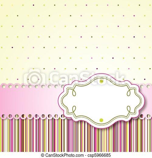 型, カード - csp5966685