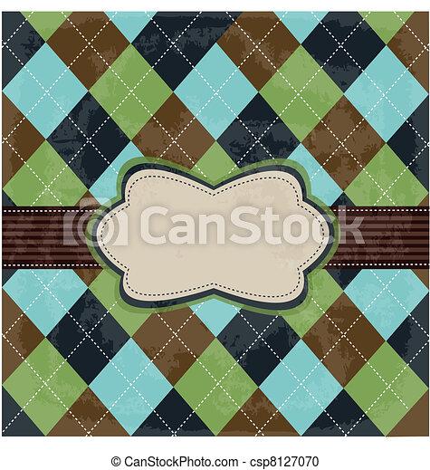 型, デザイン, カード - csp8127070