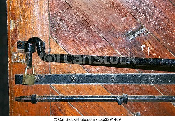 型, ドア - csp3291469