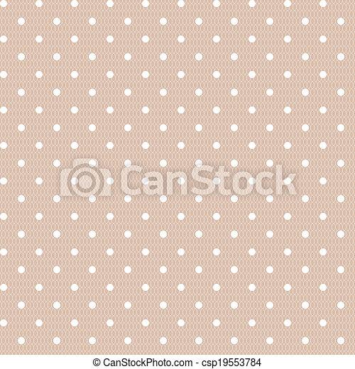 型, ポルカ, seamless, 点, パターン - csp19553784